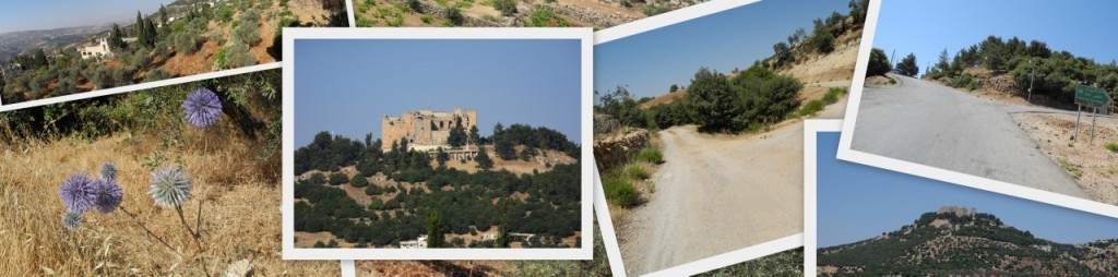 Hike near the castle in Ajloun